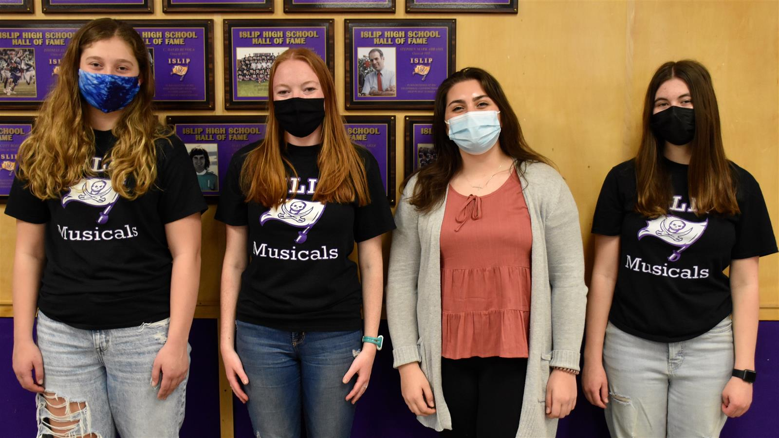 Four from Islip HS chosen for Girls State leadership program