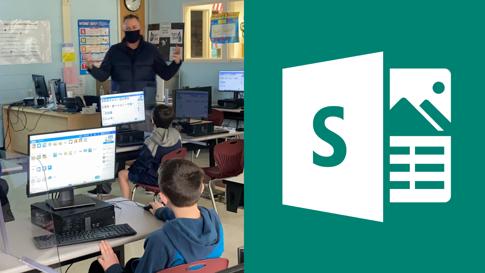 Middle schoolers in Islip learn to use Microsoft Sway