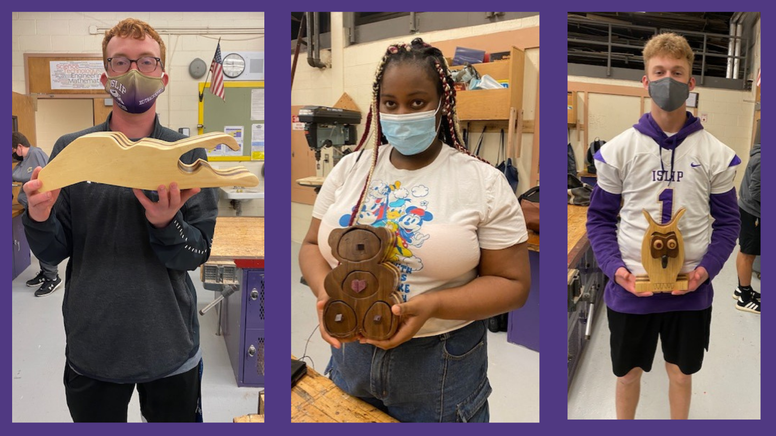 HS Woodshop Students Get Creative With Bandsaw Boxes