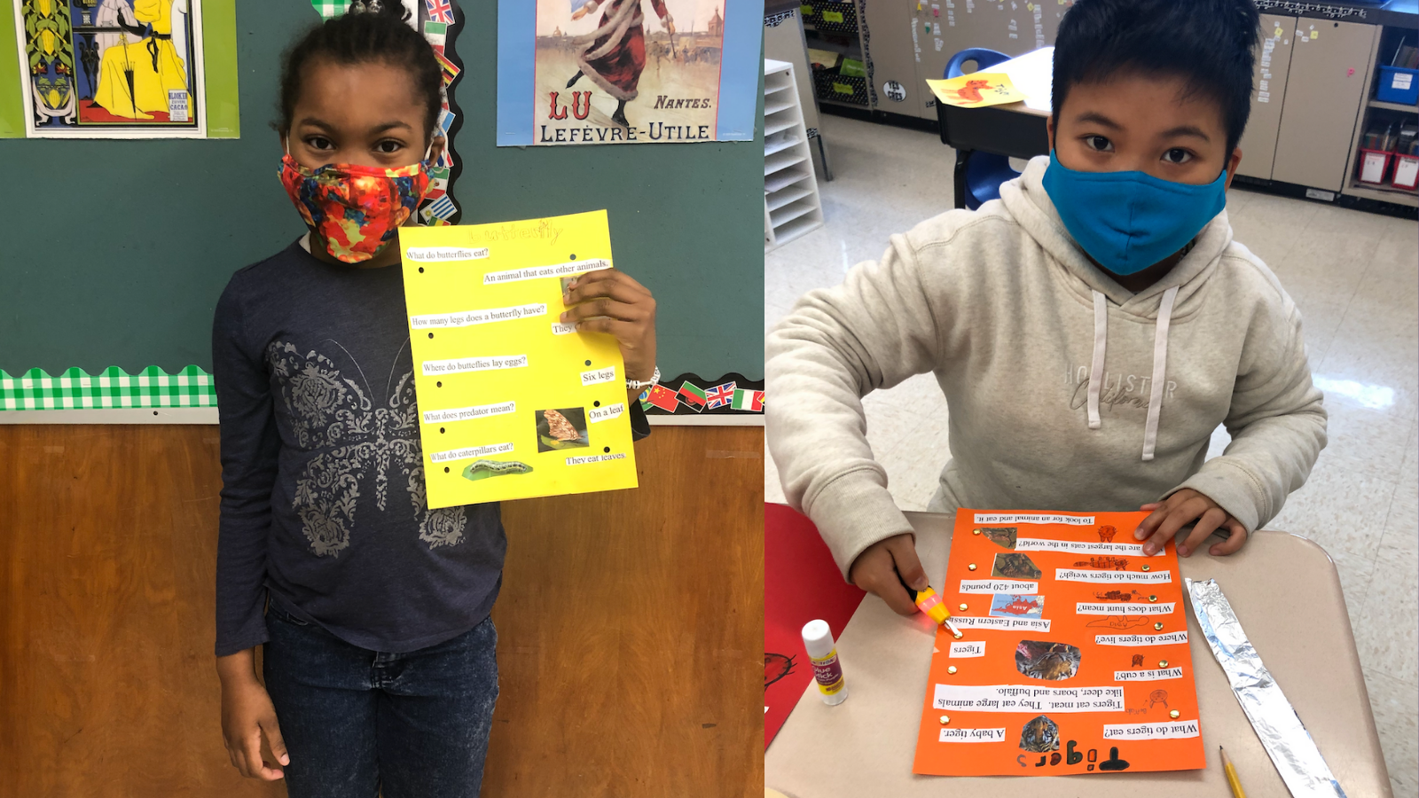 CRES ENL Students Get Creative With Animal Electro-Boards